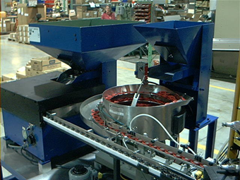 Pulley Assembly Machine Front