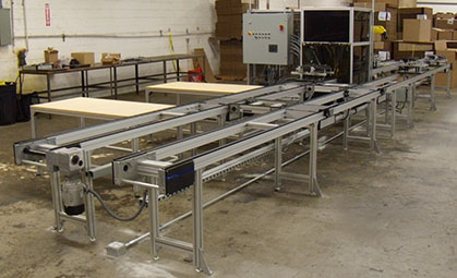 Front Shot Seat Gluing Line